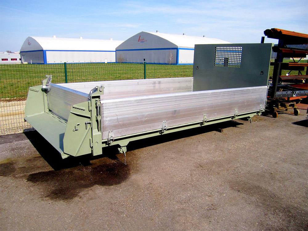 Leitner Kipper 14 t bis 19 t -Fahrzeugaufbausatz